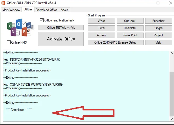 Activate Office 2016 Using KMSPico 1